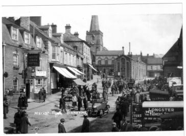 Pickering Market Place History