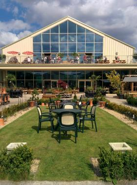 Steam and Moorland Garden Centre, Outside