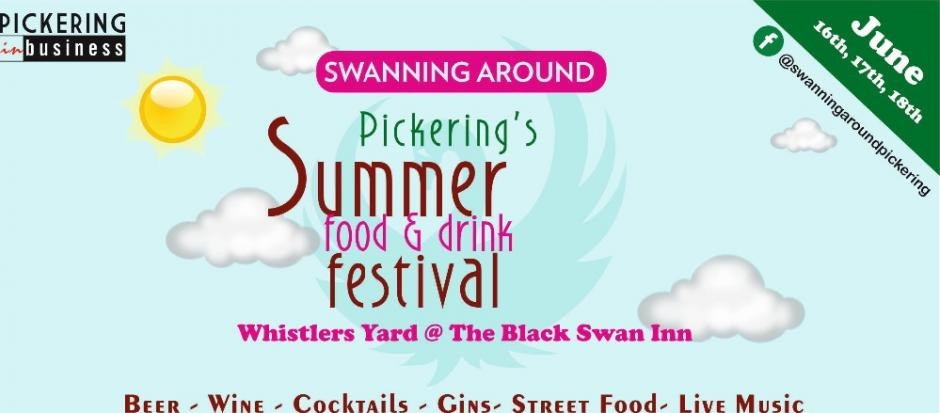 Swanning Around food & Drink Festival Pickering